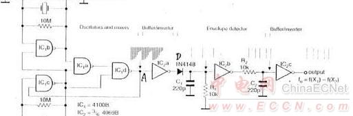 双晶振的方波发生器原理结构