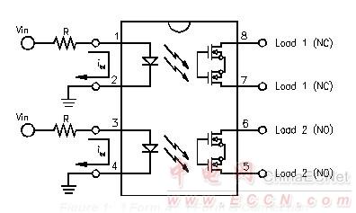 光耦继电器的应用电路
